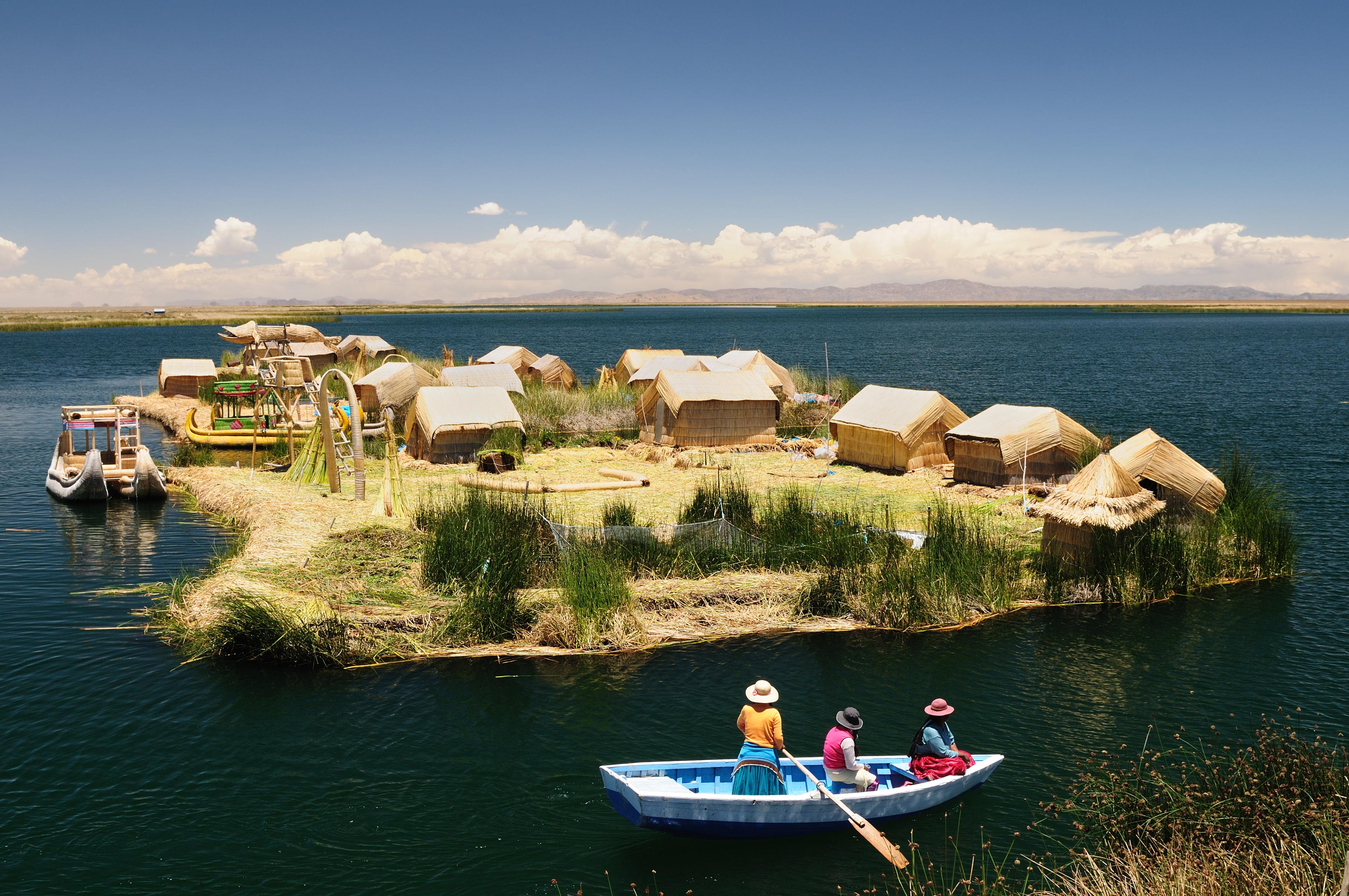 Jezioro Titicaca. Fot. Fotolia.com