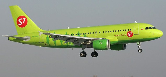 S7 - 800px-S7_Airlines_Airbus_A319 - Wikipedia