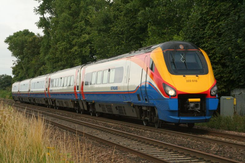 Train - East Midlands Trains Class 222; Attenborough - Wikipedia