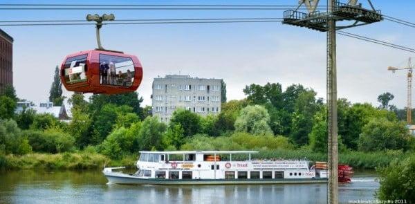 kolejka linowa Wrocław