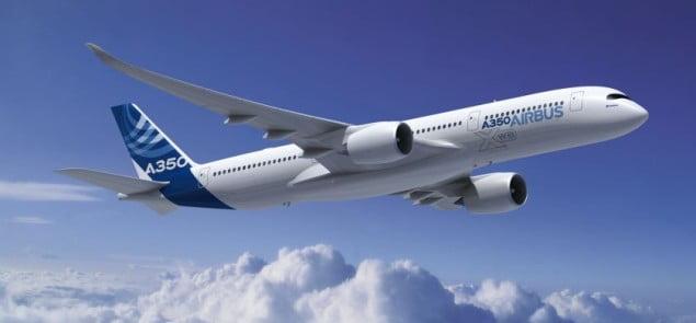 Tak prezentuje się nowy A350 XWB