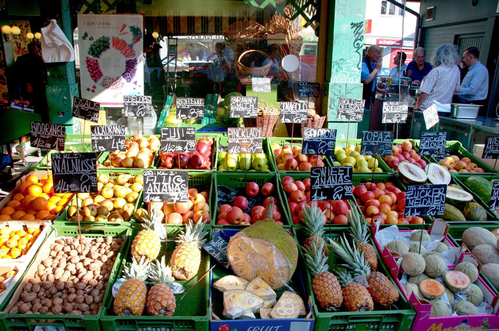 Vienna (Austria) | Naschmarkt Food Market