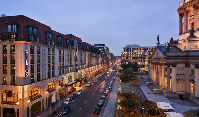 Hotel Hilton w Berlinie. Fot. Hiltonhotels