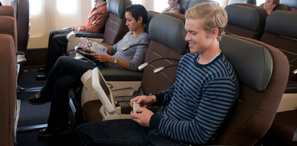 Comfort Class w samolocie Turkish Airlines. Fot. turkishairlines.com