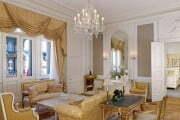Apartament Paderewski w warszawskim hotelu Bristol.