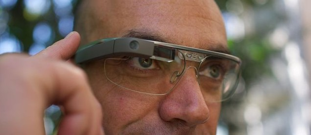 Google Glass. Fot. Creative Commons 2.0, Loic Le Meur