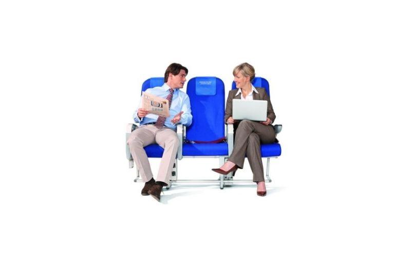 licytacja foteli w samolocie