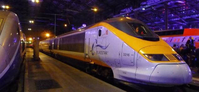 Pociąg Eurostar. Fot. Galandil/Wikiemdia Commons, Lic. 2.0