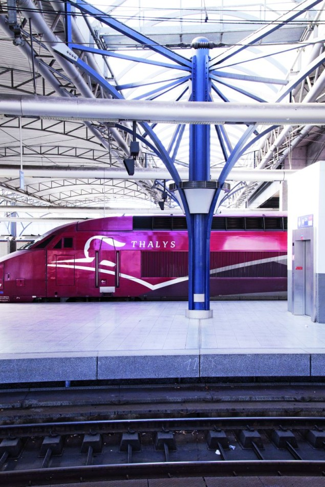 pociągi thalys