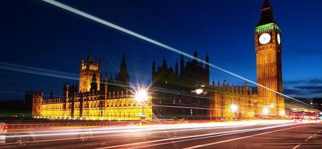 Big Ben after sunset - Wikipedia - hozinja