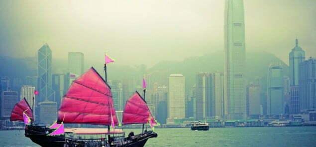 Panorama Hong Kongu. Fot. Fotolia.com