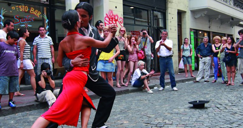 Tango na ulicy w Buenos Aires. Fot. dreamstime