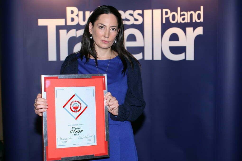 Magdalena Cygan-Łobaziewicz, lotnisko Kraków Balice