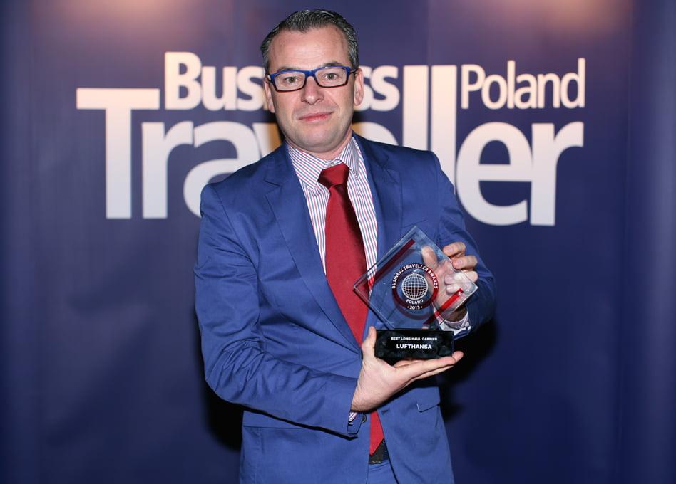 1 nagroda w kategorii Najlepszy przewoźnik na długich dystansach. Bart Buyse, Lufthansa