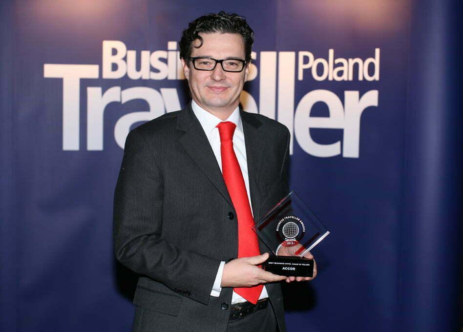 1 Miejsce w kategorii Najlepsza sieć dla biznesu w Polsce. David Henry, Orbis-Accor