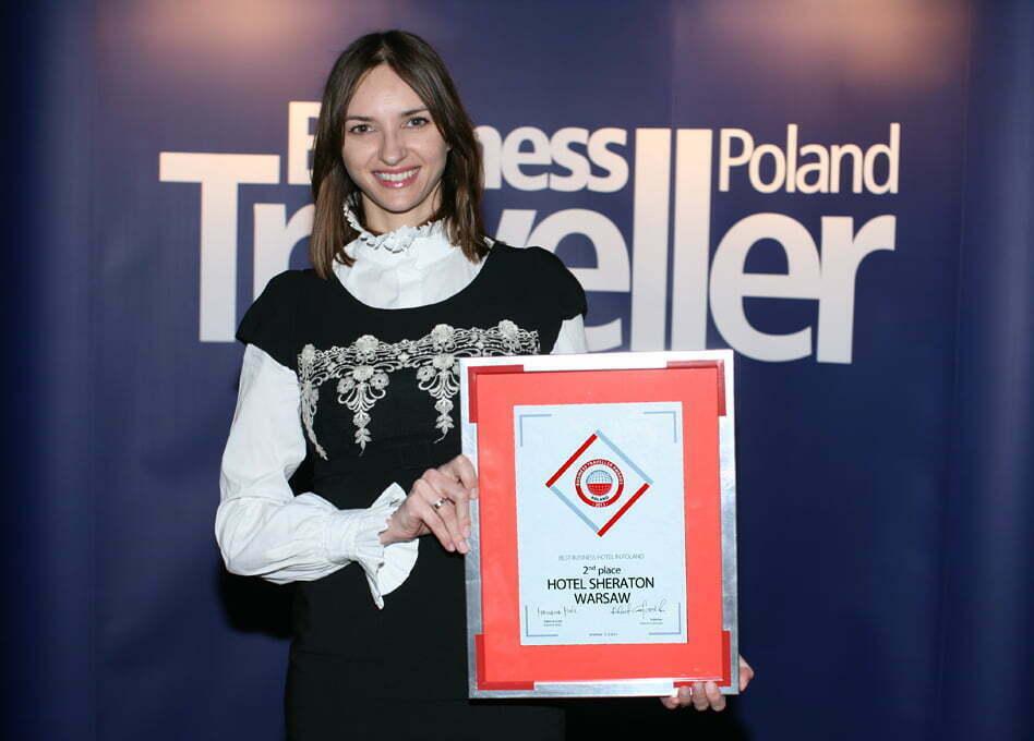 Agnieszka Róg-Skrzyniarz, Sheraton Warsaw