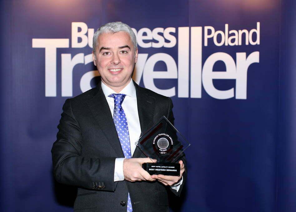1 nagroda za Najlepszy hotelowy program lojalnościowy. Gheorghe Cristescu, Best Western
