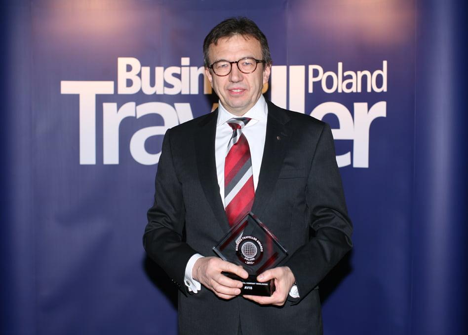1 nagroda w kategorii Najlepsza wypożyczalna samochodów na świecie. Radosław Lesiak, Avis