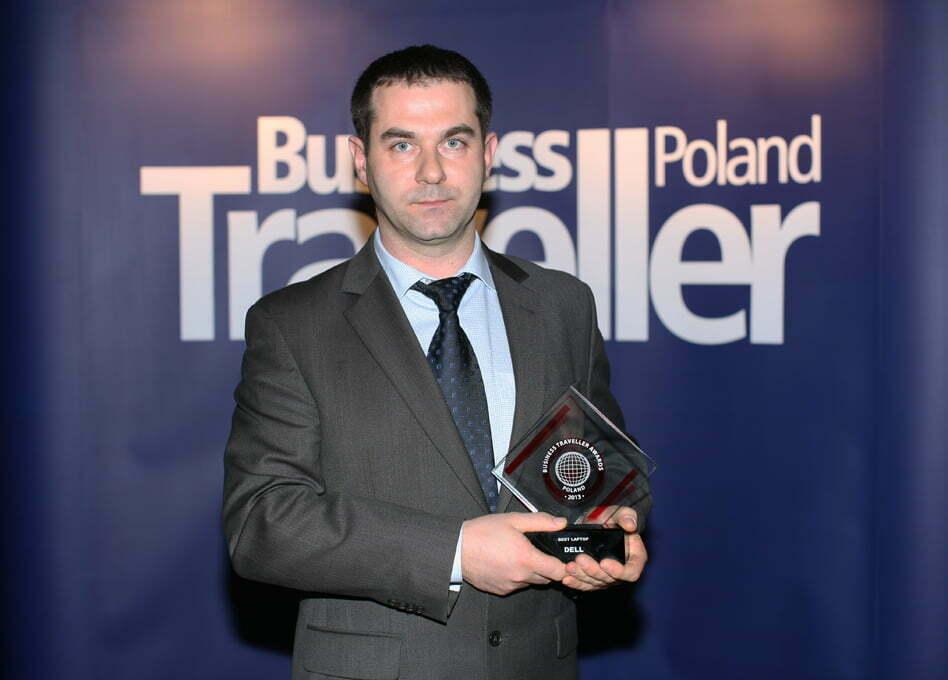 1. nagroda w kategorii Najlepszy Laptop. Robert Grosiak, Dell