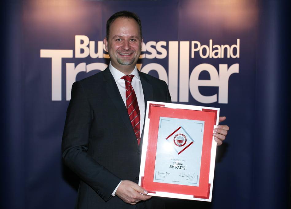 Maciej Pyrka, szef Emirates w Polsce