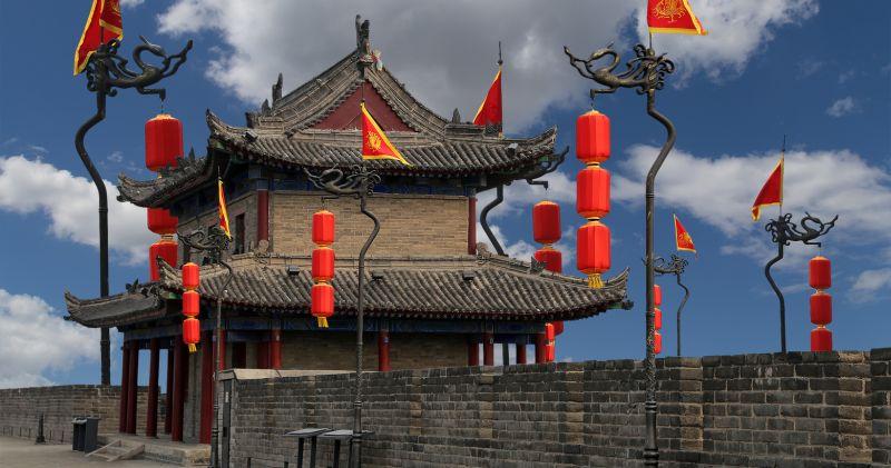 Fortyfikacje Xi'an. Fot. Fotolia.com