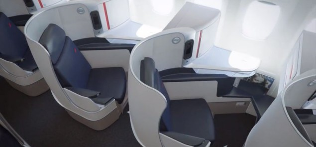 Air France Business Class - YouTube