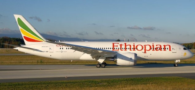 Ethiopian Airlines Boeing 787-8 - Wikipedia