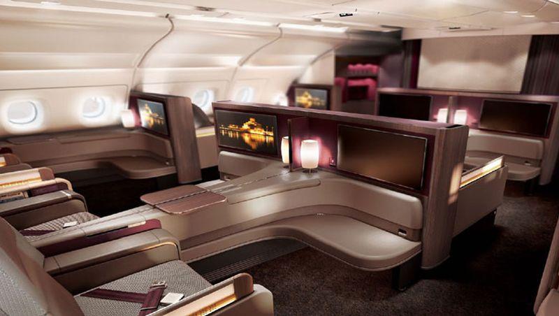 Qatar Airways  - pierwsza klasa