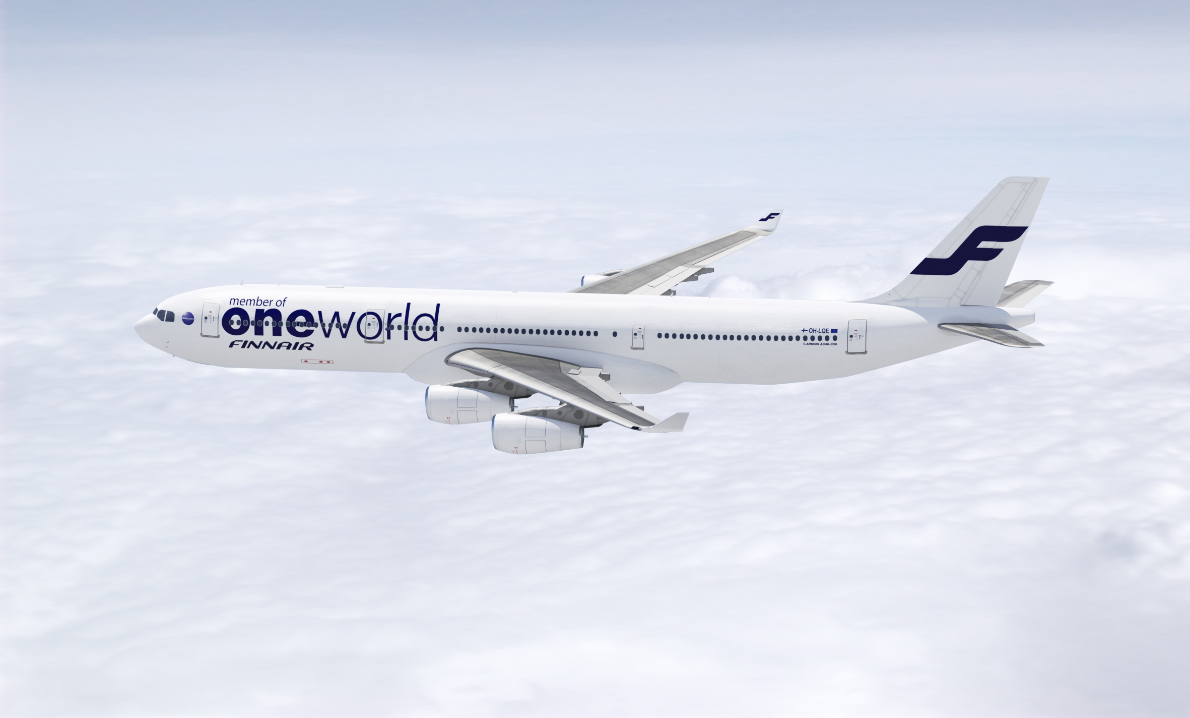FIN Airbus A340 oneworld