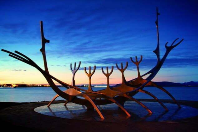 sculptures in reykjavik