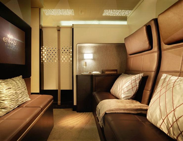 Projektowany apartament w Etihad Airways