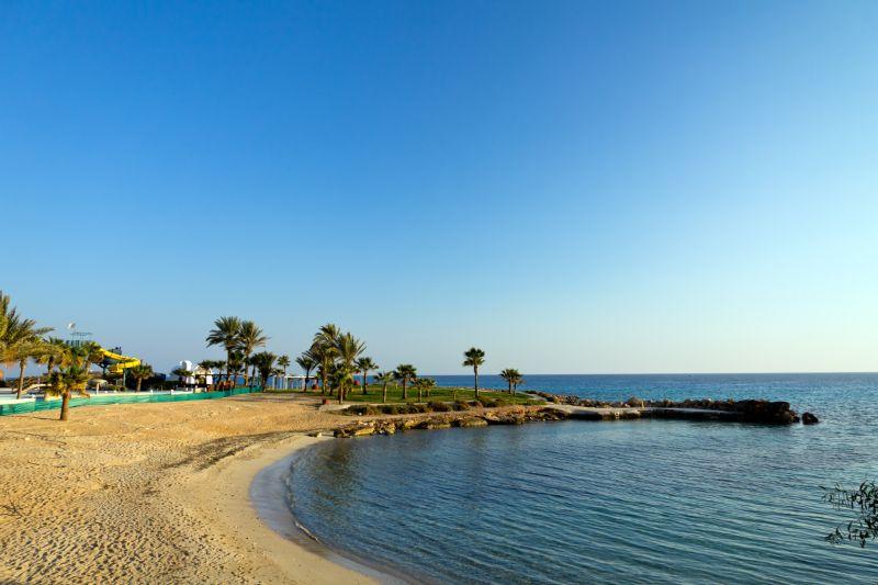 Sandstrand auf Zypern, Ayia Napa - Famagusta