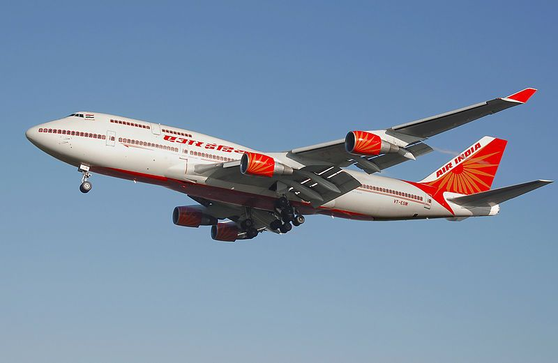 Air India B747-400 - Wikipedia