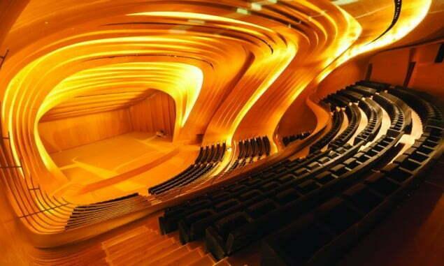 Sala koncertowa filharmonii w Baku