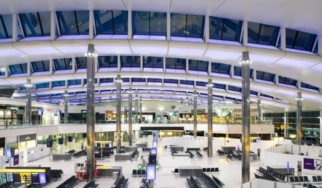 Heathrow Terminal 2 fot