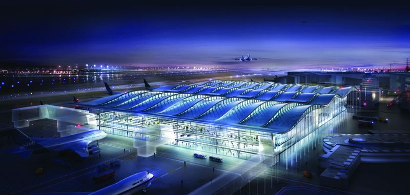 Największą korzyścią, jaką odczują pasażerowie, będzie skrócenie czasu transferu,dzięki skupieniu wszystkich operacji pod jednym dachem.