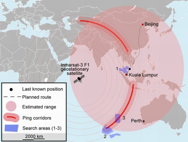 MH370 obszar poszukiwań - Wikipedia
