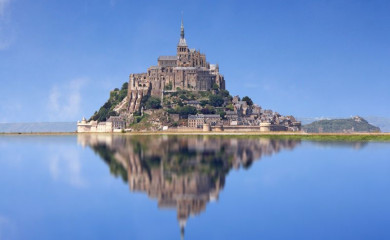 Wyspa Mont Saint-Michel. Fot. Fotolia.com