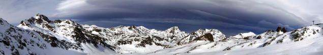 Panorama Arcalis, jednej ze stacji narciarskich w Andorze. Fot. Fotolia.com