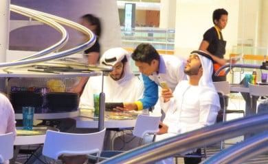 Nowa restauracja w Abu Dhabi. Fot. rollercoasterrestaurant.com