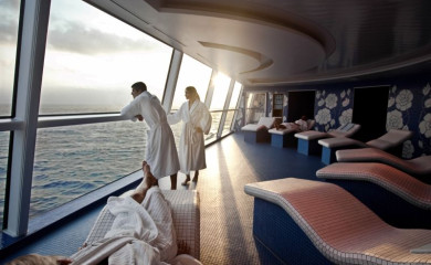Spa na statku Celebrity Cruises.