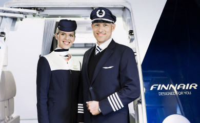 Finnair cabin attendant and pilot 01 Low
