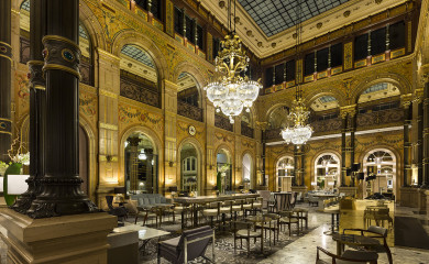 Le Grand Salon w Hilton Paris Opera