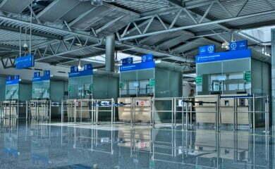 Lotnisko w Poznaniu.Fot.Port Lotniczy Poznań
