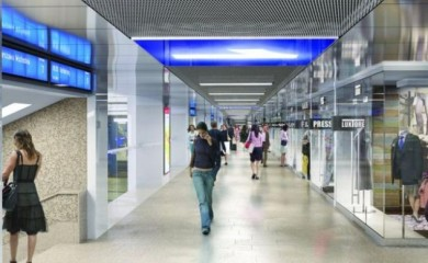 Jedna z wizualizacji tego, jak mają wyglądać podziemia Warszawy Centralnej. Fot. PKP