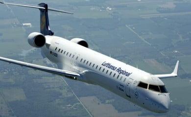 Fot Bombardier CRJ 900. Fot. Bombardier Aerospace