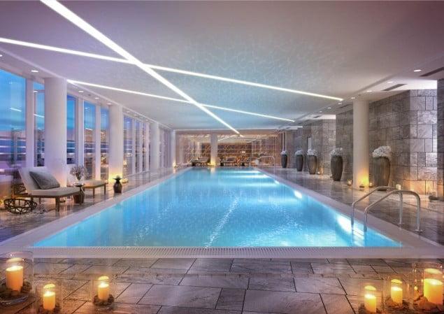 ZŁOTA 44_ 25 meter long swimming pool