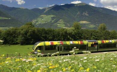 Lokalna kolej w Południowym Tyrolu