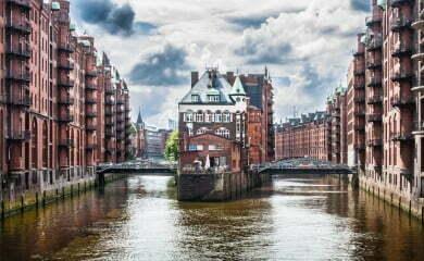 Hamburskie Miasto Spichlerzy. Fot. Fotolia.com