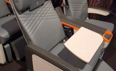 Tak wyglądają fotele w nowej klasie premium economy Singapore Airlines